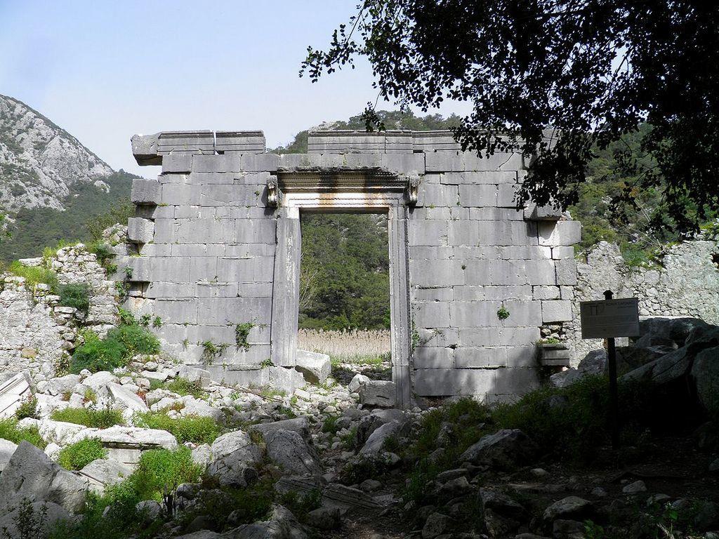 ancient cities in Mediterranean Turkey
