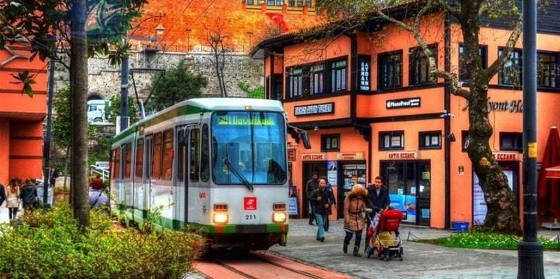 bus in bursa turkey
