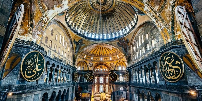 Grand Hagia Sofia in Istanbul