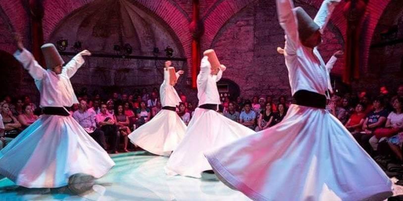 whirling dervishes dance ceremony