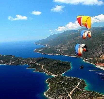 Paragliding in Kas Turkey